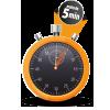 5 minutes chrono